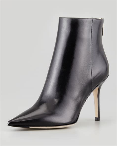 miu miu vernice pointed toe ankle boot black cishoes