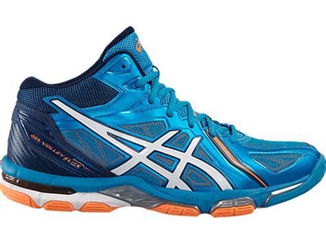 Sepatu Asics Gel Elite 3 gel volley elite 3 mt blue white orange asics gb
