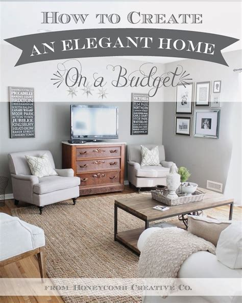Home Decorating On A Budget 12th And White How To Create An Home On A Budget 7 Tips Tricks Home Decor