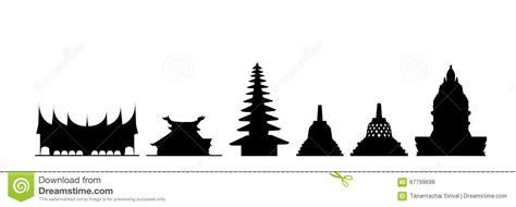 buro buddho indonesia buildings stock vector image of buildings