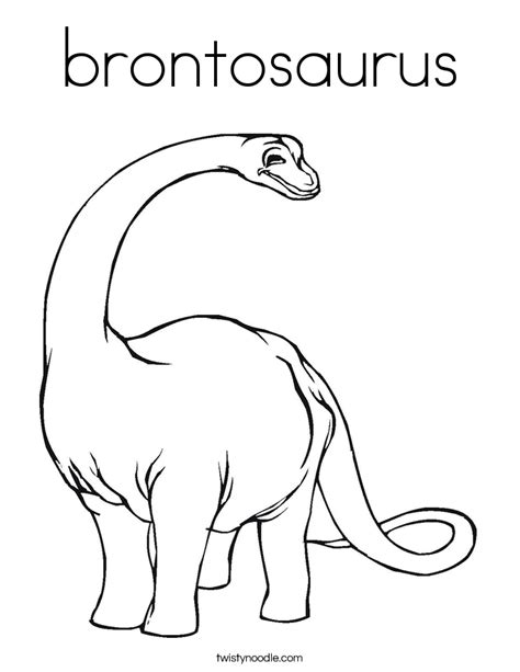 Baby Brontosaurus Coloring Page Coloring Pages Brontosaurus Coloring Page