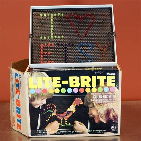 Original Light Bright by Lite Brite Childhood