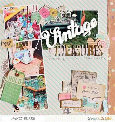 scrapbook layout vintage 454 best scrapbooking vintage layouts images on pinterest