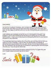 Dear Santa Letter Template Christmas Letter Tips Com Free Santa Reply Letter Template