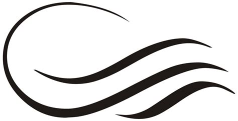 logo black and white lines wavy line clipart