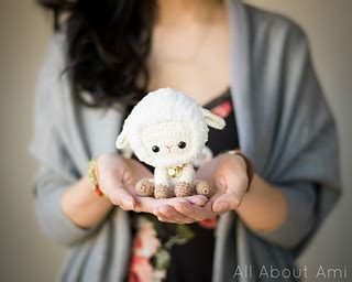 free crochet pattern 80093ad little lamb lion brand yarn ravelry chinese new year sheep lamb pattern by stephanie