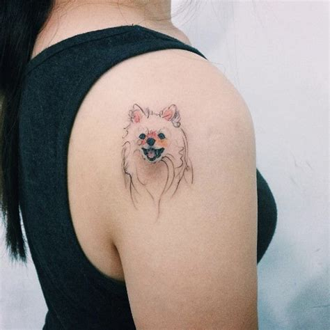design milk tattoo dog portrait tattoos by tattooist doy design tattoos