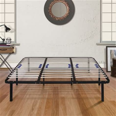 metal platform bed frame king buy e rest king metal platform bed frame from bed bath