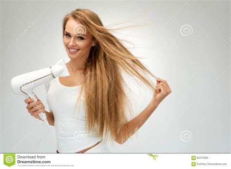 Great Dryer Happy Pretty Hair by Beautiful Drying Hair Using Dryer