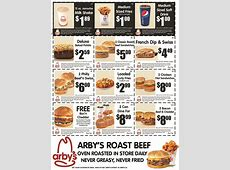 Arby's Restaurant Canada: New Printable Coupons | Canadian ... Arby S Coupons