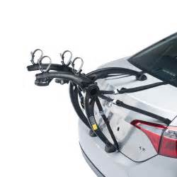 bones 2 bike trunk car rack saris