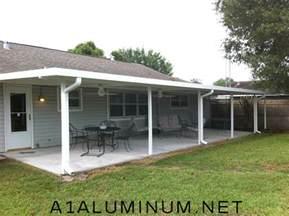Aluminium Patio by Aluminum Patio Cover With Flat Pan In Pasadena Tx 187 A 1