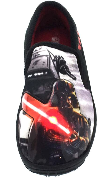 wars slippers boys wars light up slippers slip on mules shoes darth