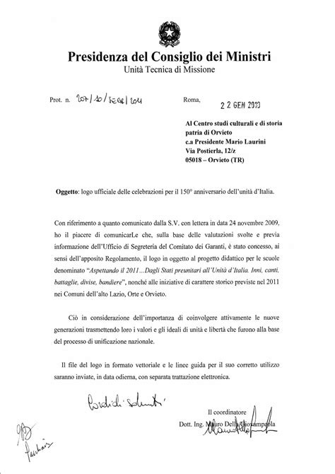 logo presidenza consiglio dei ministri risorgimento italiano ricerche