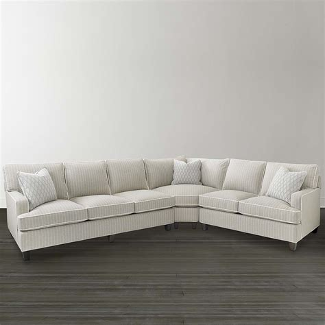 curved sectional curved corner sectional woven bassett furniture
