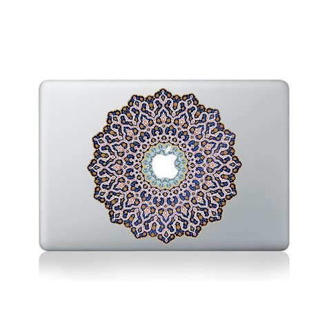 Sticker Laptop Sticker Macbook Sticker Apple Macbook Decal 13 arabic mandala vinyl sticker for macbook 13 15 vinyl revolution