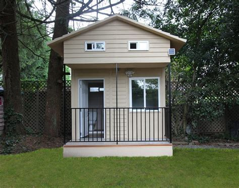 Eroca's 10'x10' Micro Home Built Using Composite Steel