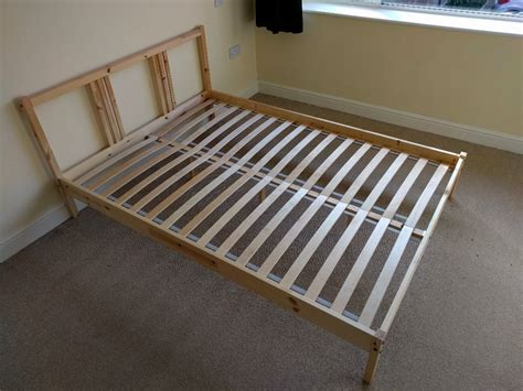 Ikea Fjellse Bed Frame Great Condition With Slats In Bed Frame With Slats