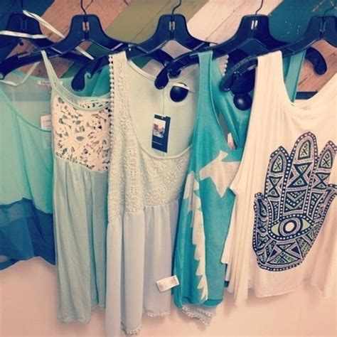 Tshirt Muslim 4 Roffico Cloth t shirt boho shirt shirt tank top clothes blue tank