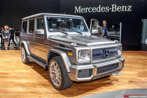 mercedes g wagon 2015 new york 2015 mercedes benz g 65 amg gtspirit