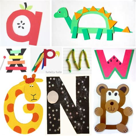 Papercraft Alphabet - in adelaide learn play abc letter craft