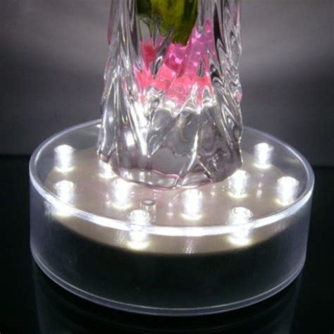 Vase Light Base by White Led Vase Centrepiece Light Base