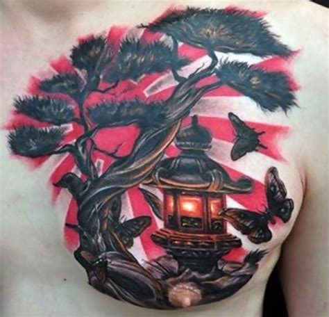 chinese tree tattoo 35 fabulous lantern tattoos designs and ideas golfian