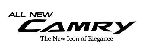 toyota camry logo toyota camry logo vector logo toyota camry vector 1 free