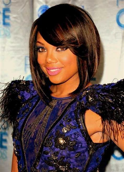 black hair styes with swooped bangs 15 new short hairstyles with bangs for black women short