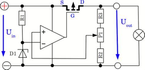 fet transistor voltage drop constant voltage homofaciens