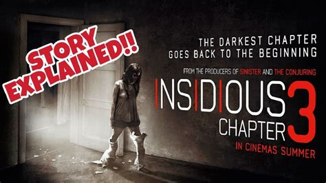 insidious film explained insidious chapter 3 2015 story explained what really