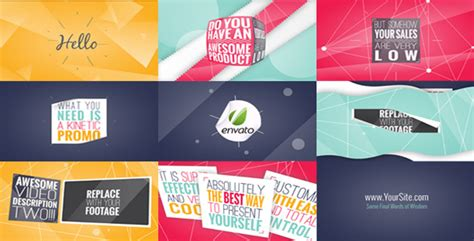 kinetic typography promo by lautebos videohive
