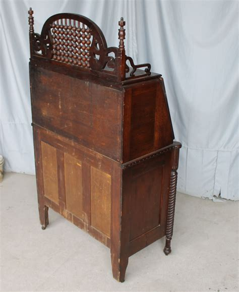 antique oak drop front secretary desk bargain john s antiques 187 blog archive antique oak drop