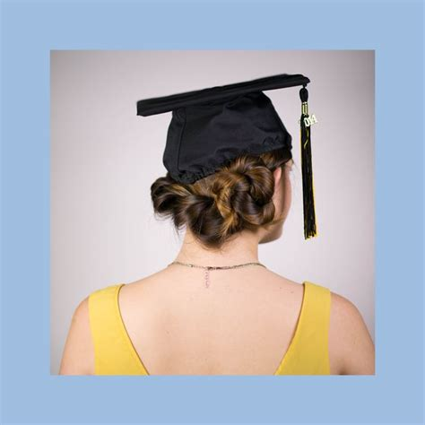 graduation hairstyles with cap 17 best images about graduation dresses on pinterest