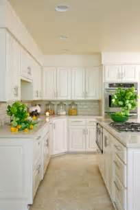White Tile Kitchen Floor Travertine Subway Tile S Transitional Kitchen Munger Interiors