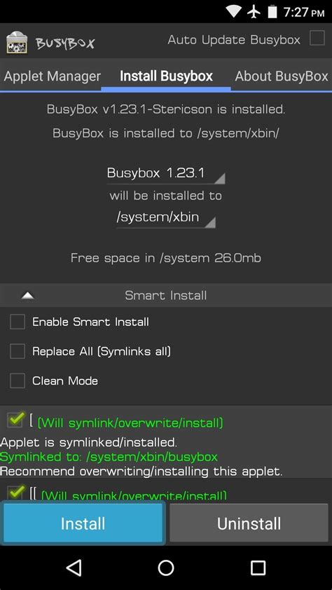 android busybox android basics how to install busybox commands 171 android hacks