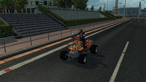 quad bike  traffic ets mods