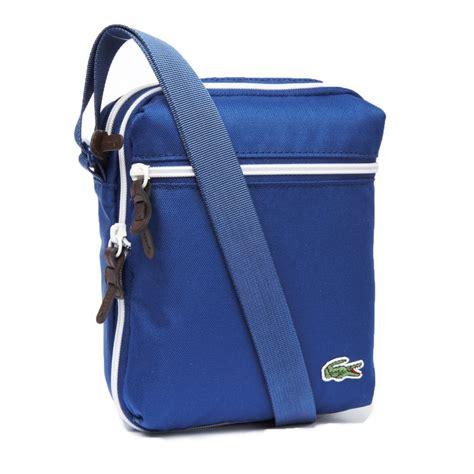 Lcost Bag lacoste lacoste backcroc satchel estate blue mens bag