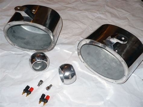 boat speaker cans krypt 6x9 wakeboard tower marine speaker cans polished