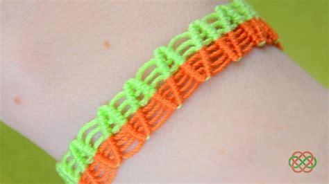 how to make macrame jewelry how to make a zigzag macrame bracelet 171 jewelry wonderhowto