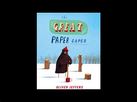 the great paper caper 0007182295 the great paper caper amazon co uk oliver jeffers 9780007182336 books