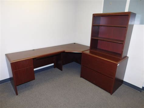 Corner Computer Desk With Extension by Kimball Arrowood Corner Computer Desk With Left Extension