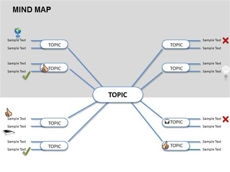mind map powerpoint template best photos of mind map template blank mind map template