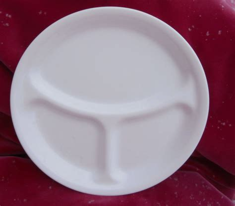 plates with separate sections corelle winter frost white grill divided plates 4 dinner