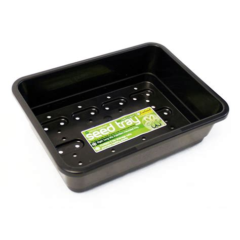 small seed tray black gardening trays greenhouse