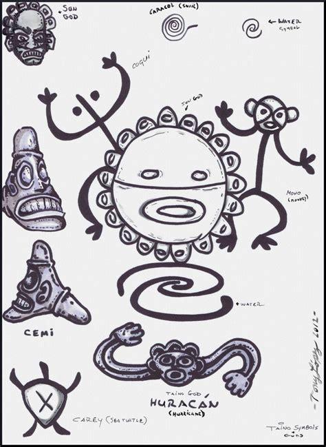 taino tribal tattoo taino indian symbols gods by lpsalsaman deviantart on