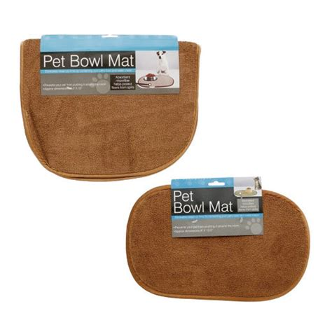 Cat Bowl Mat by Large Microfiber Pet Bowl Mat Machine Washable Cushions