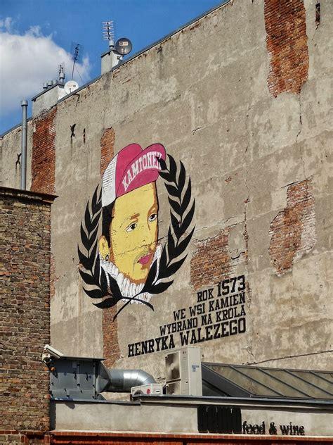 heniek waleziak przy ulicy minskiej street art festival