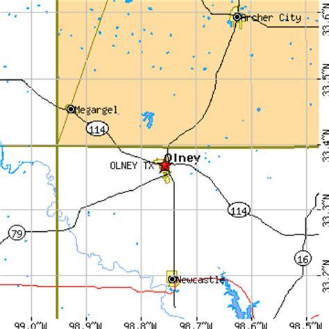 olney texas map olney texas tx population data races housing economy