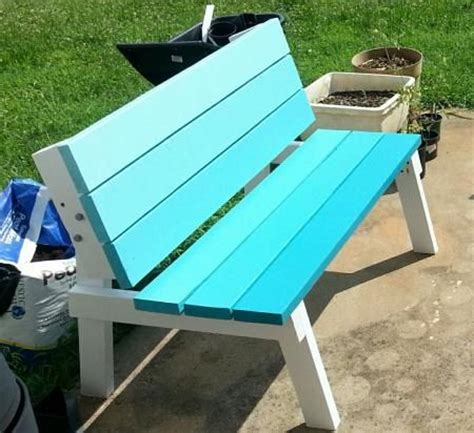 convert a bench folding picnic table convertible picnic table build 2 benches that flip and convert into a picnic table as needed